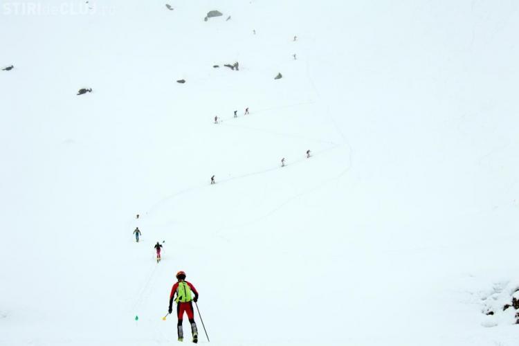 Salvamontiștii clujeni au concurat la Concursul Ski Alpinism Race 2017