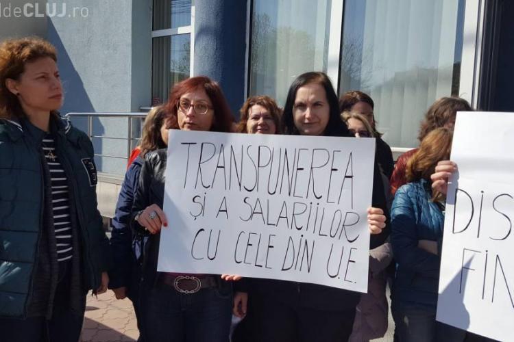 Greenpeace s-a solidarizat cu angajații de la Mediu, care cer salarii mai mari
