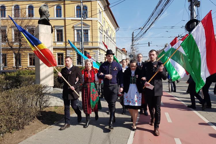 Cluj-Napoca: Normalitate la Ziua Maghiarilor de Pretutindeni - FOTO și VIDEO