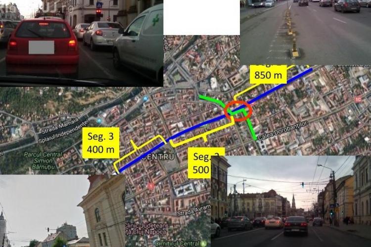 Boc și noul studiu de trafic propun schimbări DURE în centrul Clujului. Cum se va circula pe axa Mărăști - Memorandumului