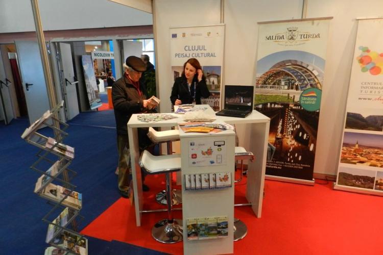 Clujul s-a promovat la Târgul de Turism al României - FOTO