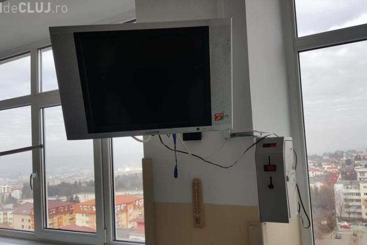 """Pacienții plătesc 2 lei să se uite la TV: """"În pușcărie e gratis"""""""