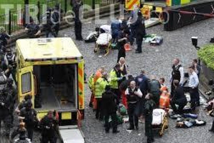 Cum arată teroristul responsabil de atacul de la Londra. Poliția a făcut publică imaginea acestuia FOTO