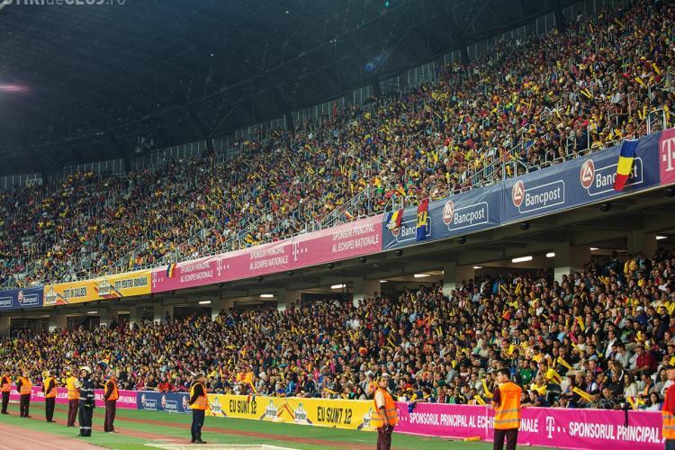 Se vând biletele la meciul România-Danemarca, de la Cluj-Napoca