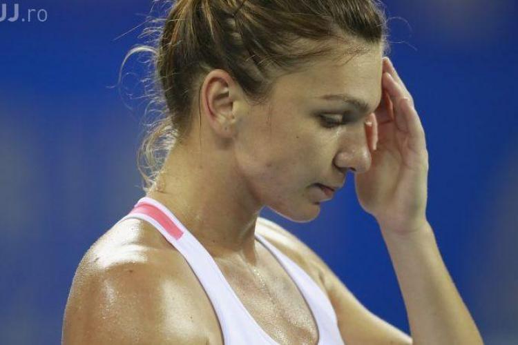 Simona Halep, eliminată de la Indian Wells: Picioarele mele erau dispărute