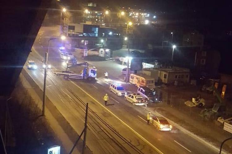Accident cu o victimă pe strada Frunzișului, din Cluj-Napoca. Șoferul vinovat a fugit de la fața locului FOTO