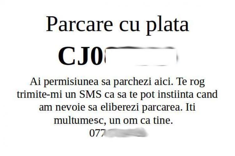 Cluj: #isharemyparking - Grup pe Facebook unde poți împărți parcarea cu altcineva