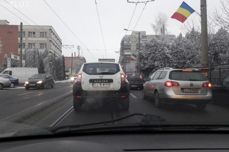 Un clujean a monitorizat zilnic traficul pe Bulevardul Muncii. Ce probleme a identificat - FOTO