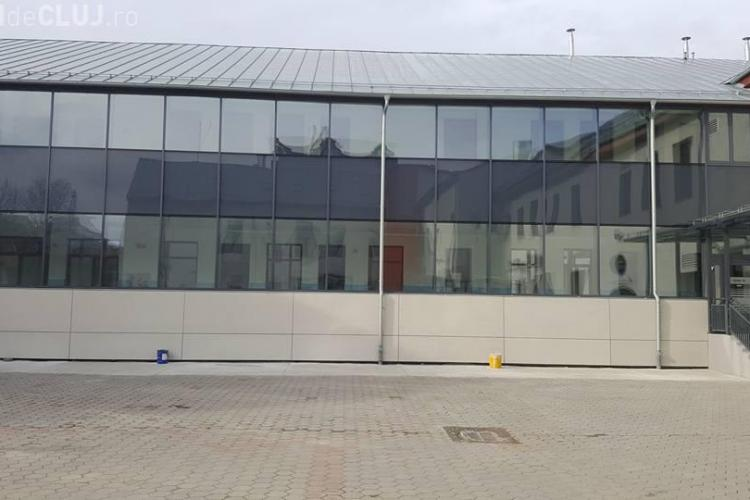 S-au finalizat lucrările la Liceul Eminescu din Cluj-Napoca - FOTO