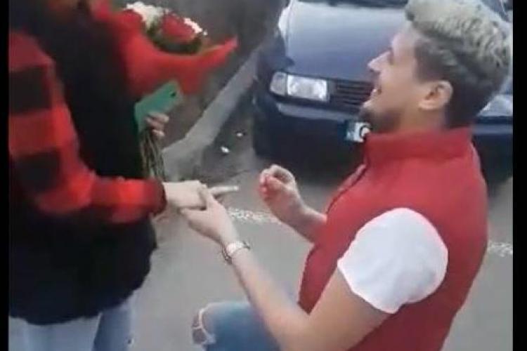 Un clujean și-a cerut iubita de soție deşi o cunoștea numai de o săptămână