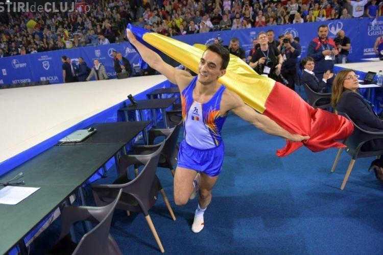 Gimnastică la Cluj: Marian Drăgulescu, ARGINT la sărituri
