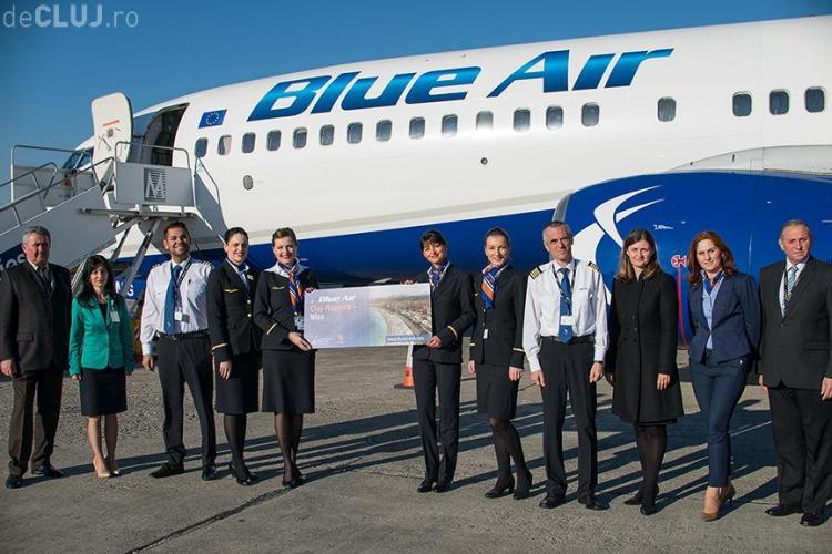 S-a inaugurat o nouă cursă, în premieră, de pe Aeroportul Cluj-Napoca. Vezi cu ce frecvență se circulă