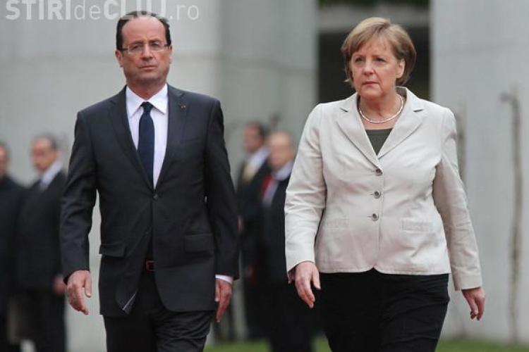 Merkel și Hollande susțin atacul lui Trump în Siria. Ce au declarat liderii europeni