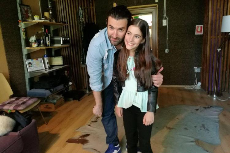 Katia Carbune, câștigătoarea Next Star, a înregistrat prima ei piesă în studioul lui Smiley, Hahaha Production - VIDEO