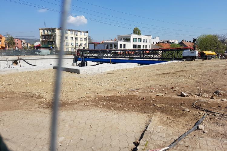 """La Podul Traian NU se lucra deloc! """"Probabil nu mai au acum ce face!"""" - VIDEO"""