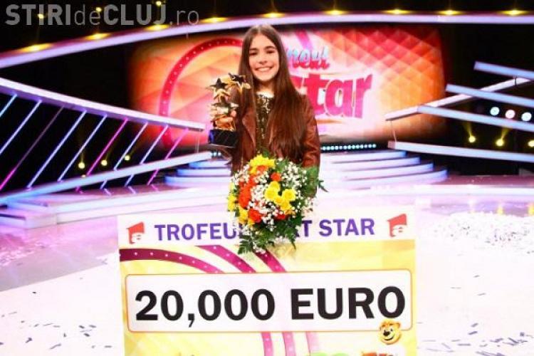 Cluj - Katia, 11 ani, a câștigat Next Star cu o nouă melodie compusă de ea: E genială! - VIDEO