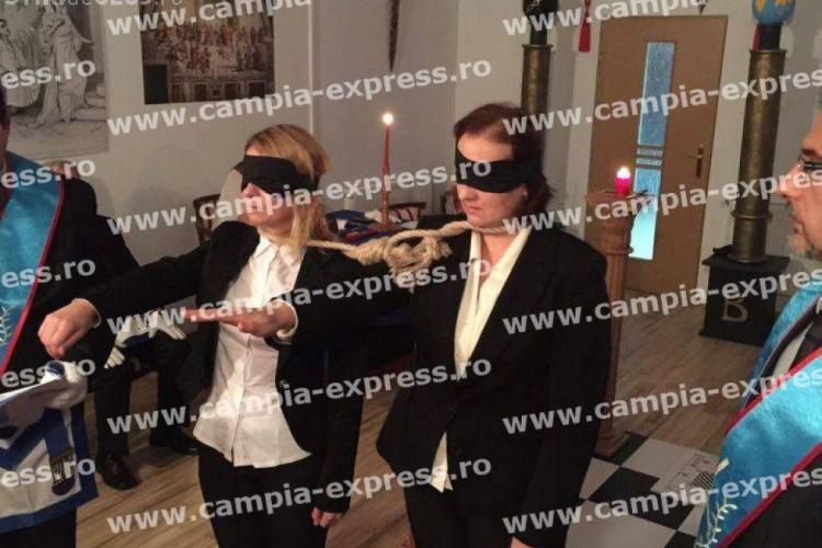 Ritualuri MASONICE la Câmpia Turzii, organizate de politicieni: Jur, in numele Arhitectului Suprem al tuturor lumilor