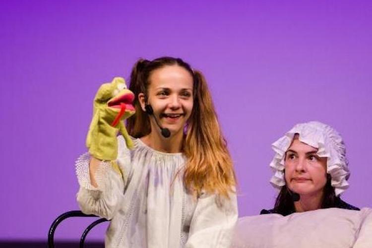 """Piesa de teatru pentru copii """"Ziua în care a fugit somnul""""– în premieră la Cluj-Napoca"""