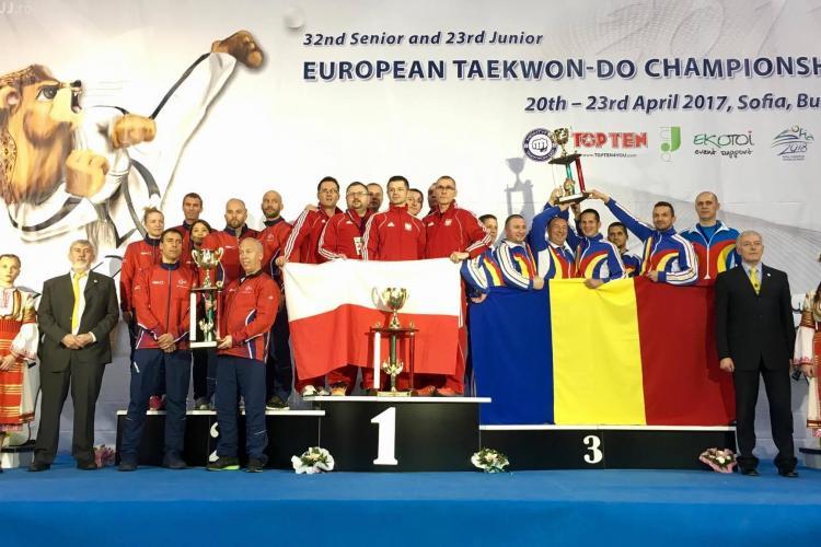 România - pe podiumul Campionatului European de Taekwon-do ITF din Sofia, Bulgaria