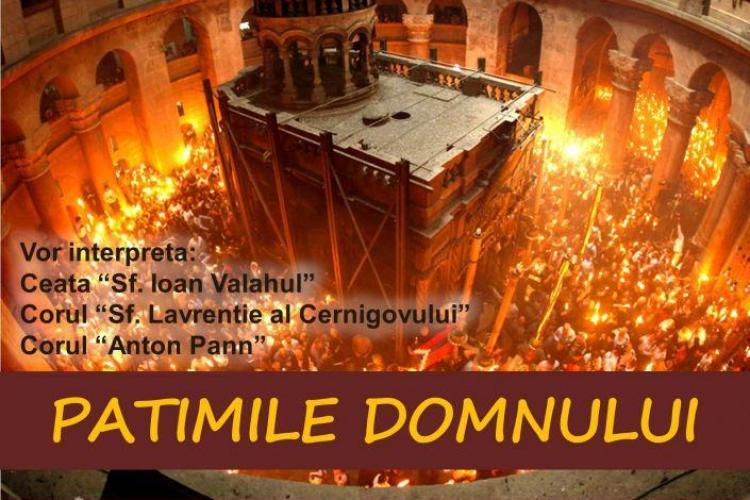 """Cluj: """"Patimile Domnului"""" cântări intepretate la Auditorium Maximum"""