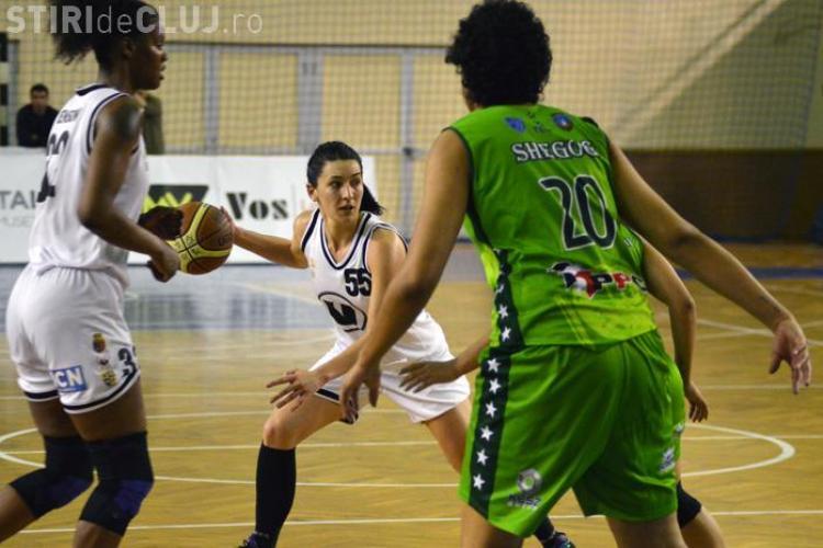 U Cluj are azi meci decisiv în finala campionatului feminin de baschet, după ce a pierdut duelul de miercuri
