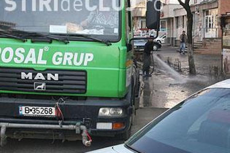 """Cluj-Napoca: Programul acțiunii """"Curățenia la rigolă"""""""
