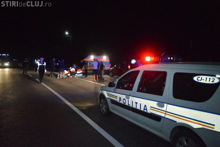 Cluj: Remorca tractată a lovit un autoturism, dar șoferul nu s-a oprit. Și-a abandonat remorca