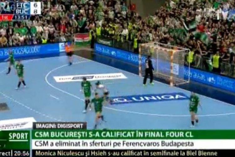 Moment HALUCINANT la un meci de handbal în Ungaria. Suporterii i-au aruncat 1 litru de urină în cap unei jucătoare românce