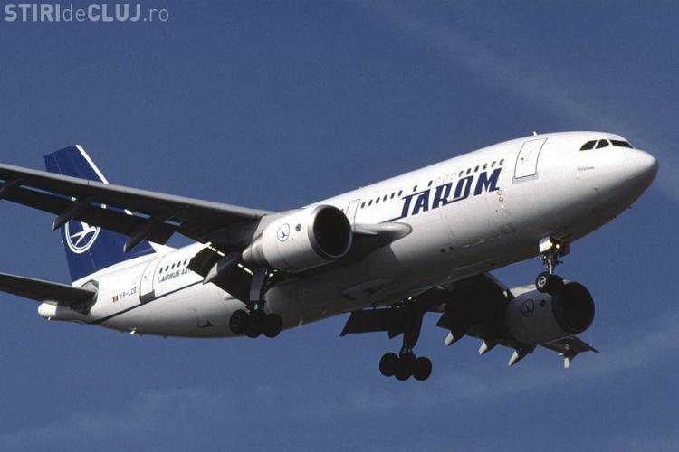 Un avion Tarom a decolat de la Cluj-Napoca după 4 ore de întârziere