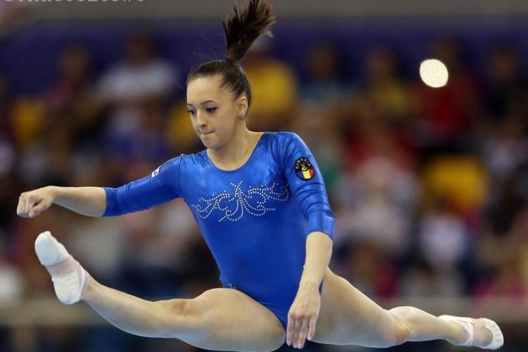 Larisa Iordache a plâns după ce a ratat aurul la Cluj. Ea a explicat la final ce s-a întâmplat - VIDEO