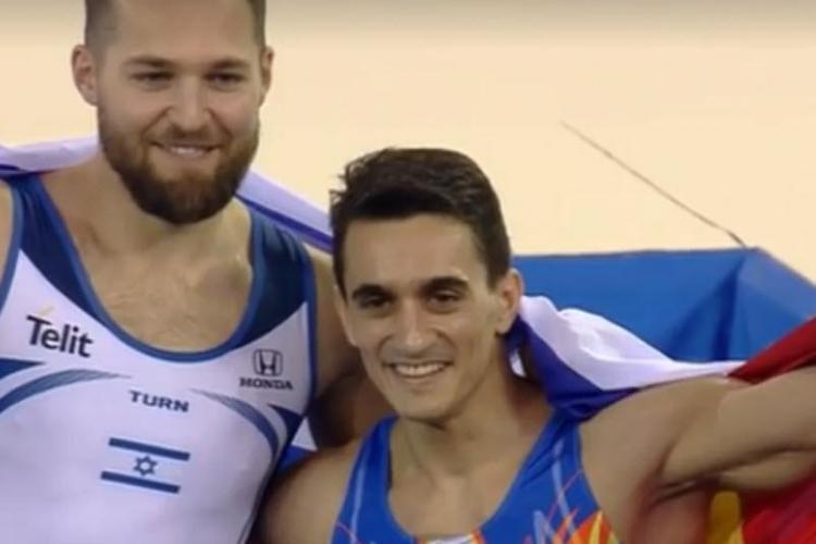 AUR pentru Marian Drăgulescu la Campionatul European de la Cluj. Drăgulescu e campion european la sol - VIDEO