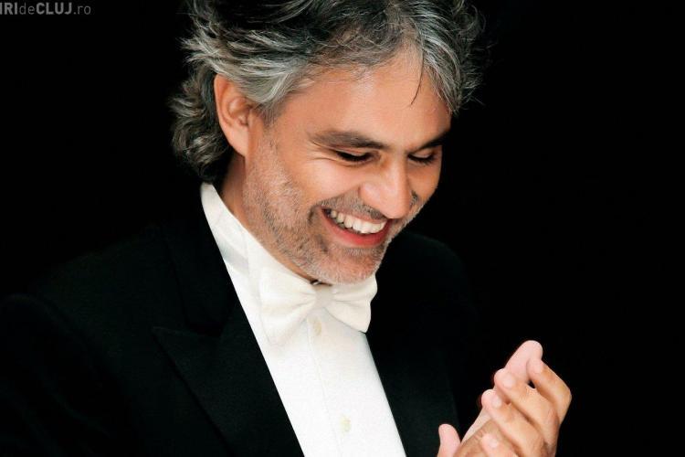 Concert Andrea Bocelli la Cluj. Ce artiști vor mai urca pe scena de la Cluj-Napoca