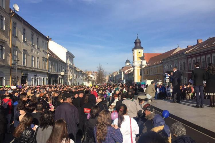 Declarația controversată a Mitropolitului Clujului, la Marșul pentru Viață: Fiecare familie ar trebui să dacă măcar 3 copii