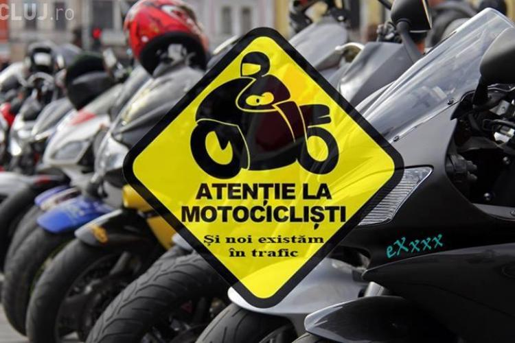 Cluj: Campania ATENȚIE LA MOTOCICLIȘTI are loc în aprilie
