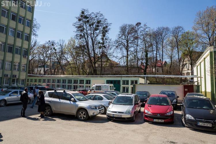 Un parking nou este promis la Institutul Oncologic din Cluj-Napoca