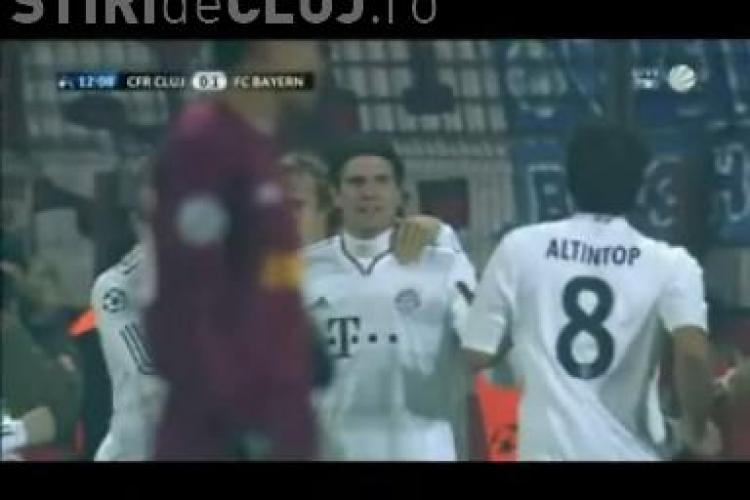 Gol Gomes! CFR Cluj - Bayern Munchen / VIDEO