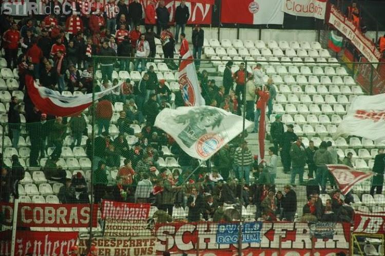 Suporterii lui Bayern Munchen au populat tribunele din Gruia - Galerie FOTO / VEZI cum se bucura nemtii