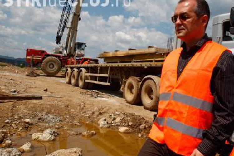 Emil Boc inaugureaza sambata 10 kilometri din Autostrada Transilvania