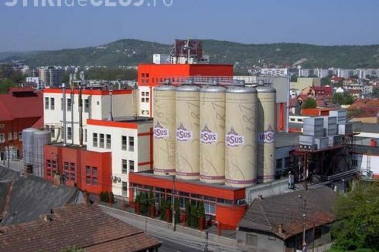 Ursus Breweries a motivat la AJOFM Cluj ca desfiinteaza fabrica pentru ca este cea mai putin rentabila din tara