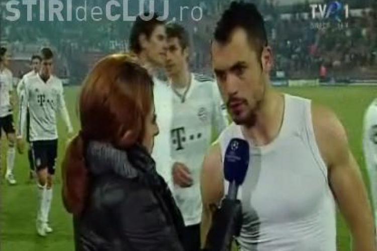 """Stancioiu a rabufnit:  """"Coechipierii m-au ajutat sa ajungem la cifra patru! Daca prindem Europa League sa fim fericiti"""" - VIDEO"""