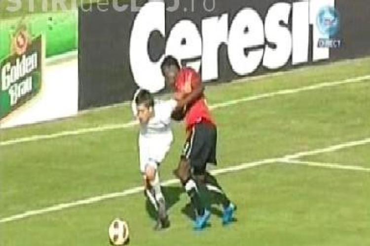 Sportul Studentesc a ratat un penalty dupa un fault comis de Gaston Mendy / VEZI VIDEO