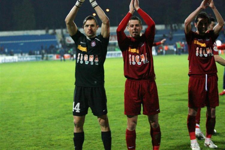 CFR Cluj, campionii Romaniei la... cartonase rosii