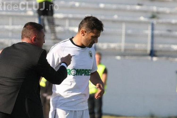 Niculescu ramane pe banca la U Cluj si pentru meciul cu Rapid