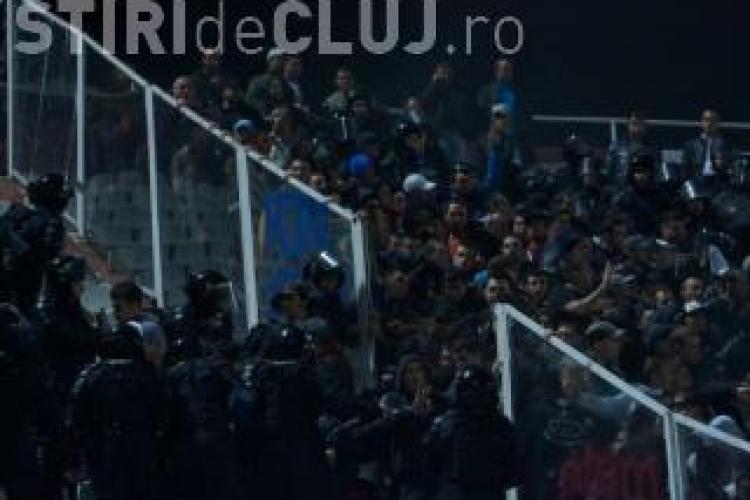 Rapid si Steaua, fara spectatori in meciurile cu echipele clujene