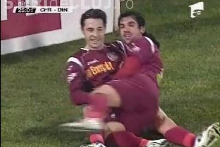Gol Bjelanovic! CFR Cluj - Dinamo / VIDEO
