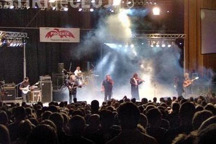Concert al trupei Phoenix, in 22 noiembie, la Cluj Napoca