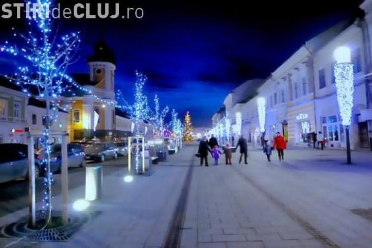 99 de stele 3D vor impodobi Clujul de Craciun si Revelion