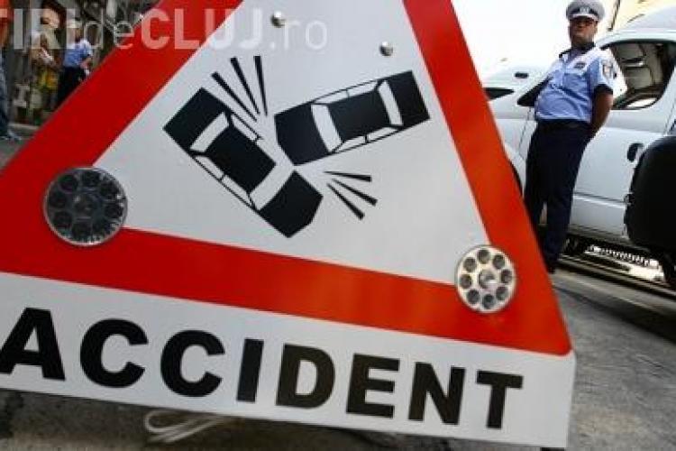 Un copil de 8 ani, accidentat pe strada Alexandru Vlahuta