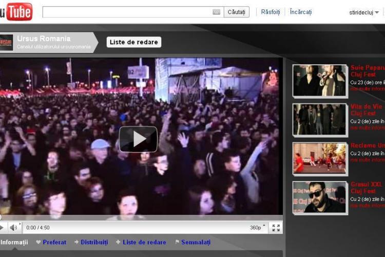 """Ursus vrea sa isi """"spele"""" imaginea pe YouTube, dupa ce a anuntat ca renunta la fabrica din Cluj!"""