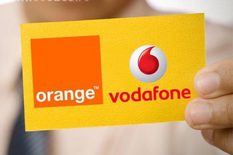 Orange si Vodafone risca o amenda de 100 de milioane de euro